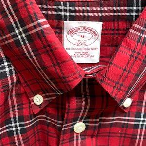 Classic fall plaid Brooks Brothers Oxford Medium